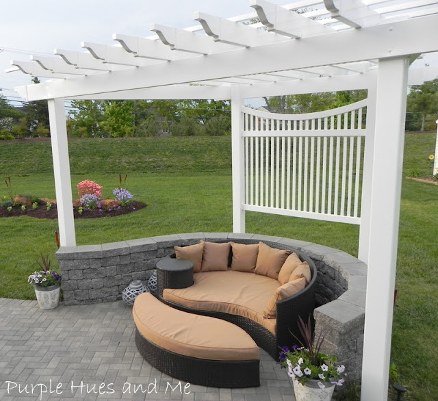 Pergola Transformation, outdoor living,
