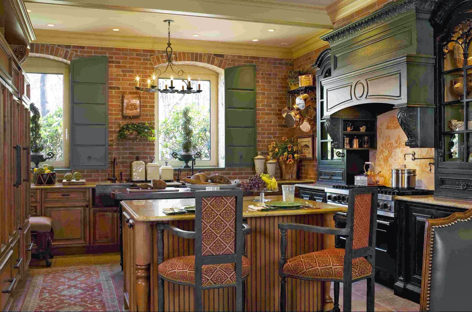 French Kitchen Design Ideas ~ French provincial kitchen decorating ideas