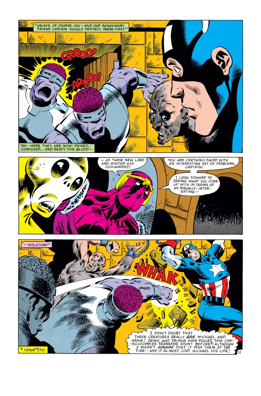 Captain America (1968) Issue #277 #193 - English 13
