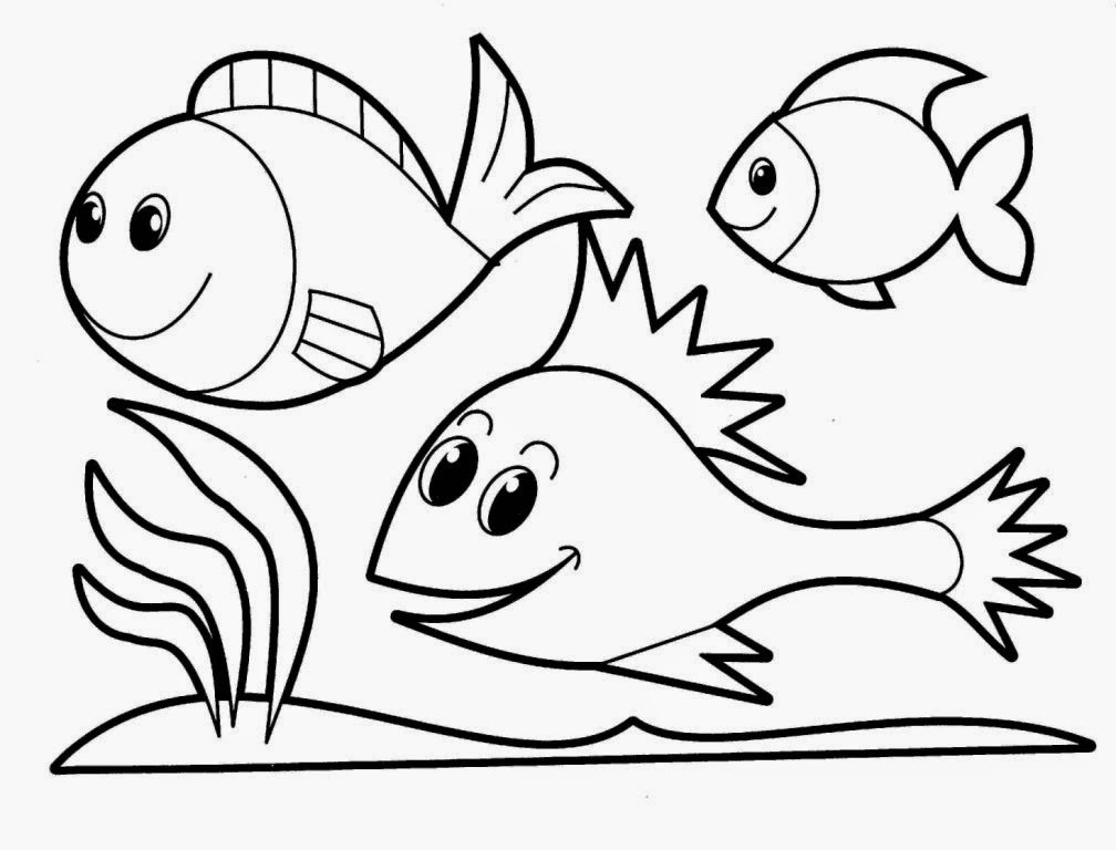 fish printable coloring pages - Printable Coloring Pages Kids