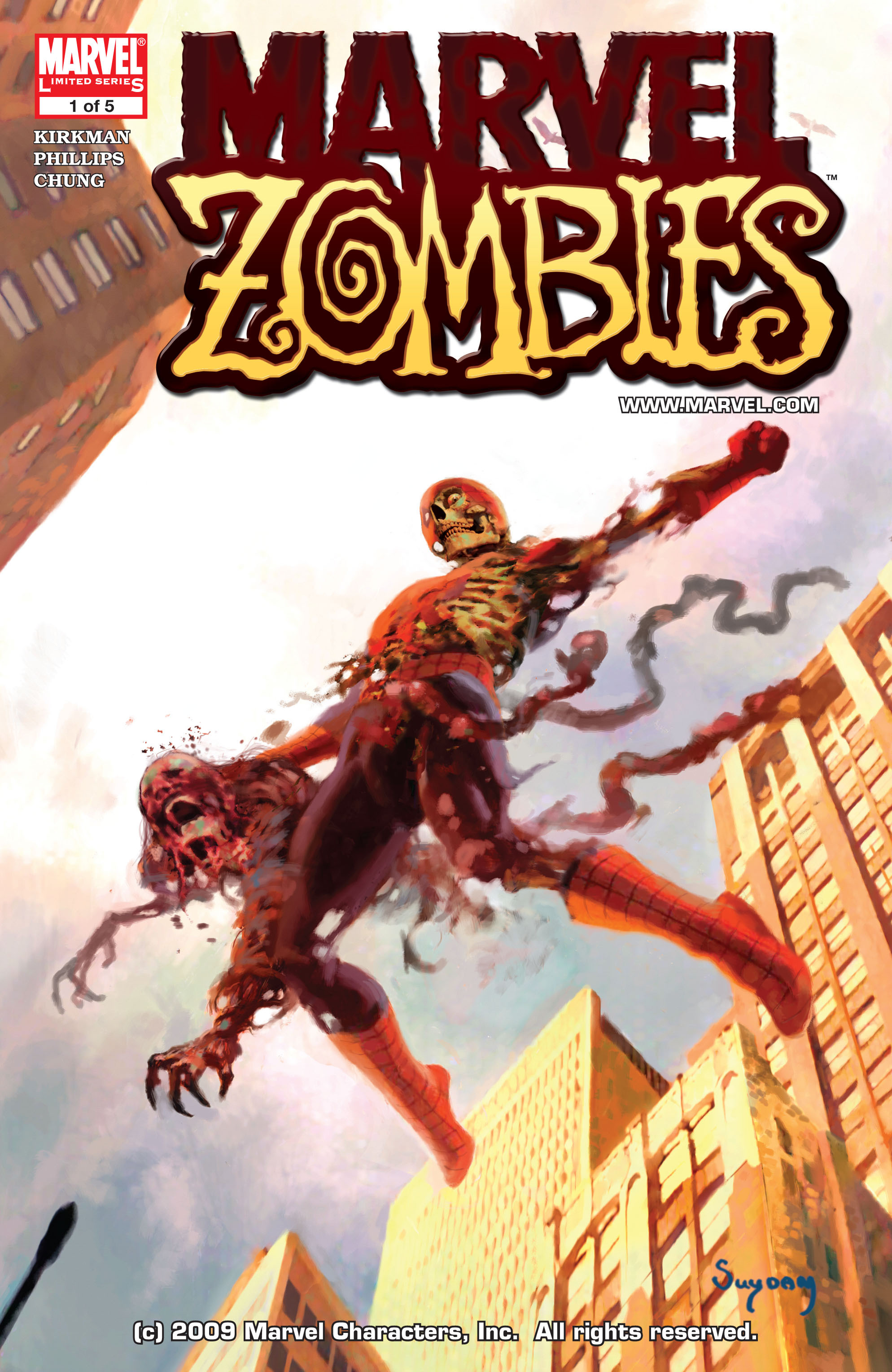 Marvel Zombies (2006) Issue #1 #1 - English 1