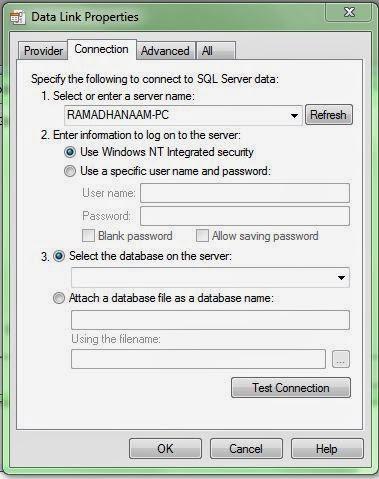 Cara menghubungkan atau mengkoneksikan SQL dengan VB