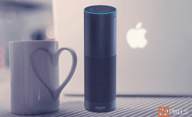 Amazone Introduced Voice Search Speaker Called Echo