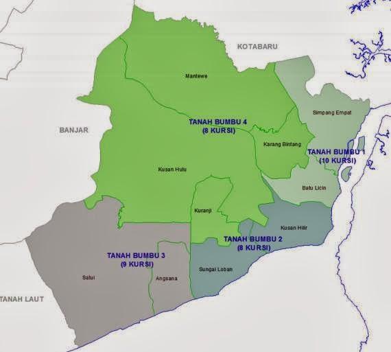 daftar nama caleg DPRD Tanah Bumbu (tanbu)