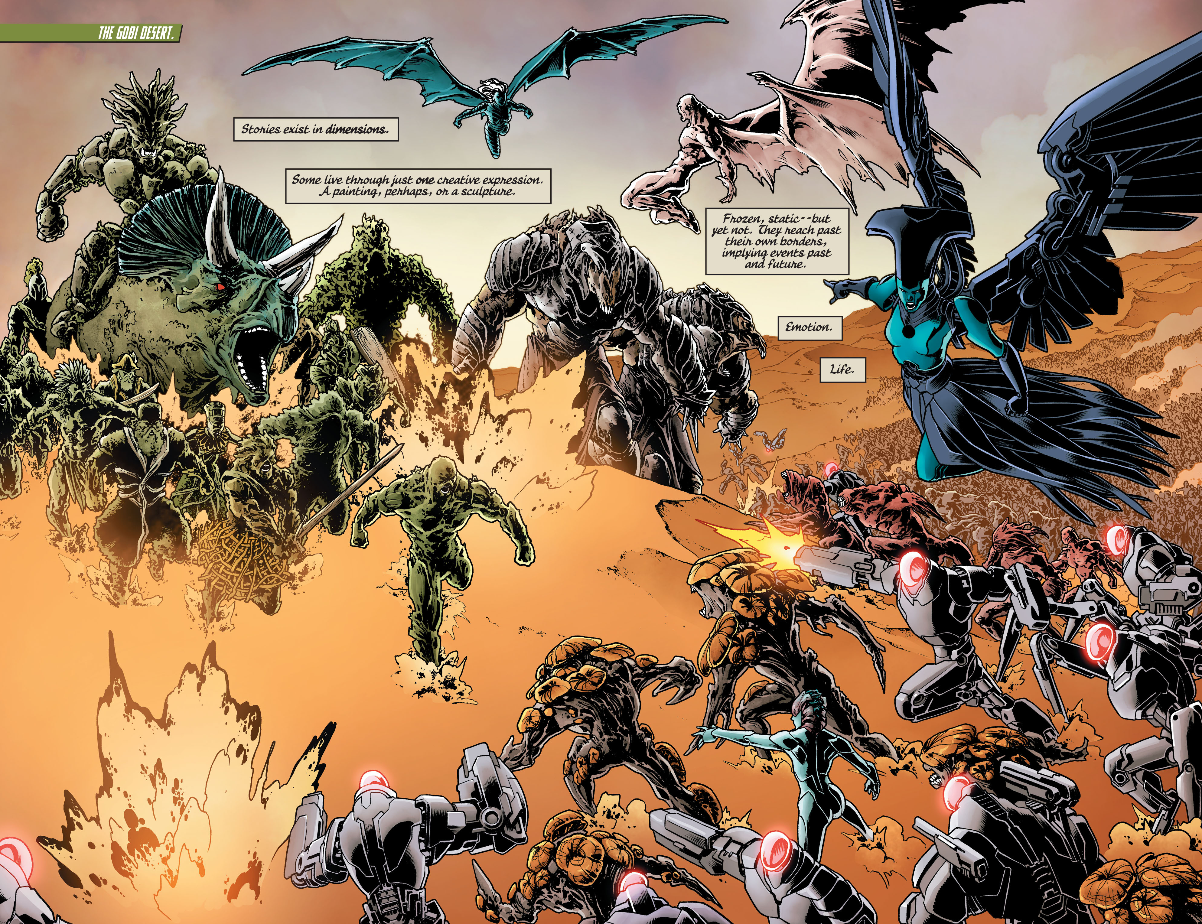 Swamp Thing (2011) Issue #40 #45 - English 10