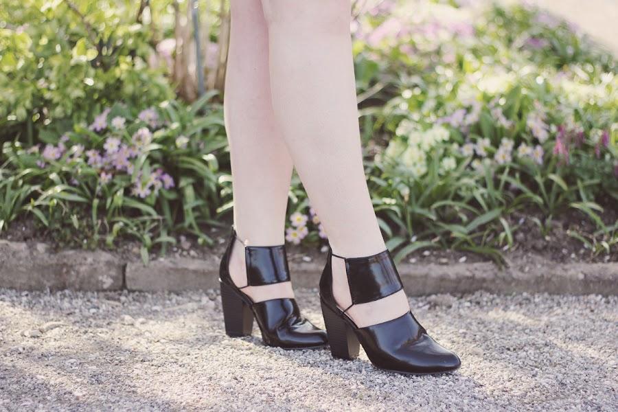 forever 21 elastic high heels