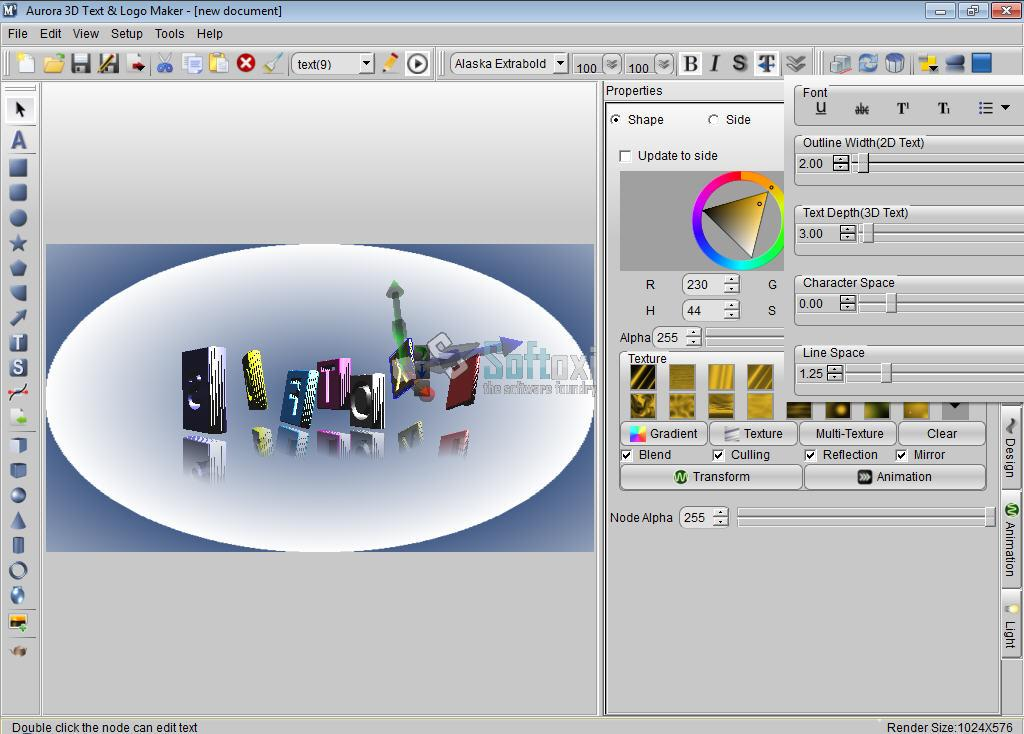 Some Logo Design 3d Software Some 3d Text Logo Effects