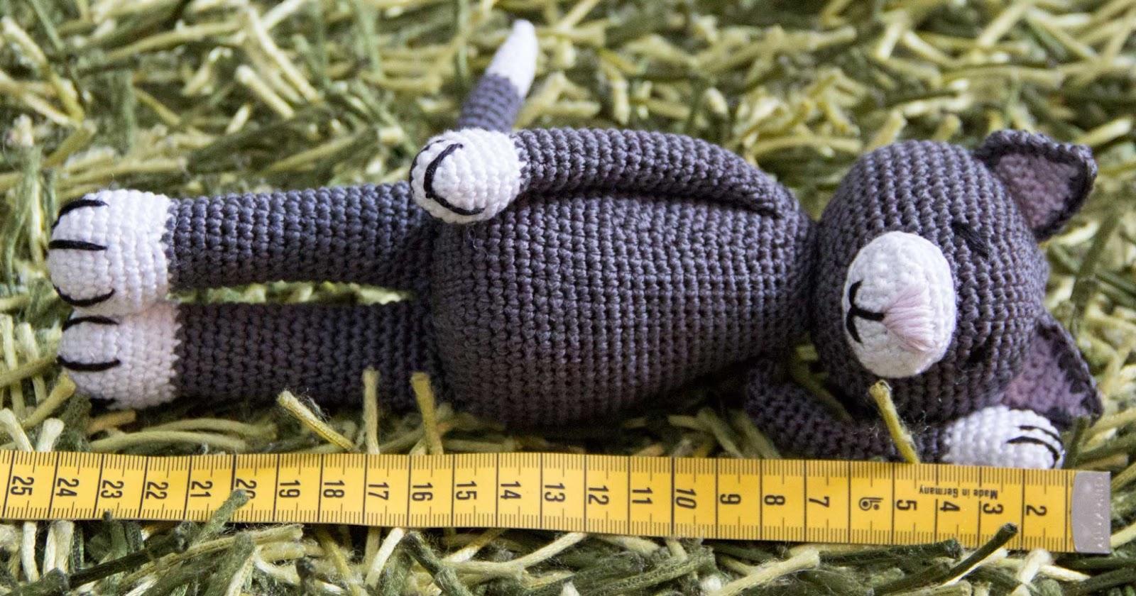 amigurumi croched cat