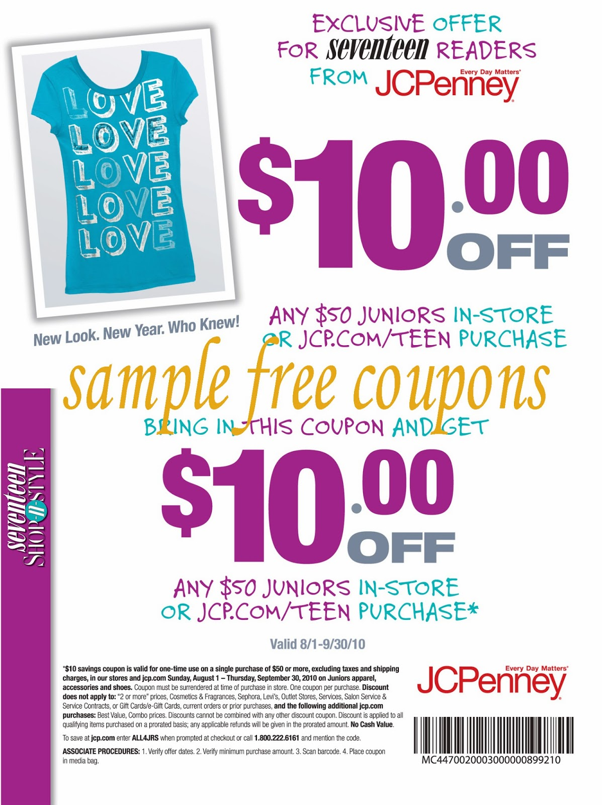 Penney's coupons