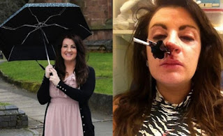 paraguas nariz