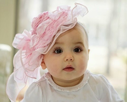 Image bébé fille facebook