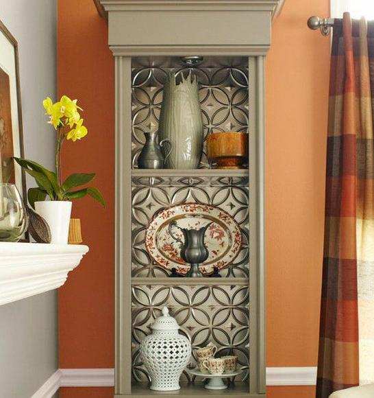 How to update furniture with wallpapers home decorating for Updated wallpaper designs