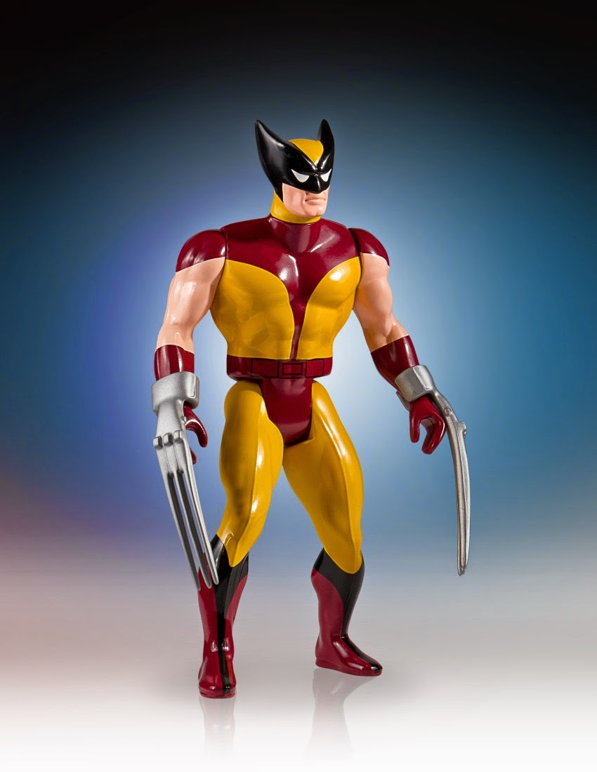 "Marvel's Secret Wars Wolverine 12"" Jumbo Vintage Action Figure by Gentle Giant"