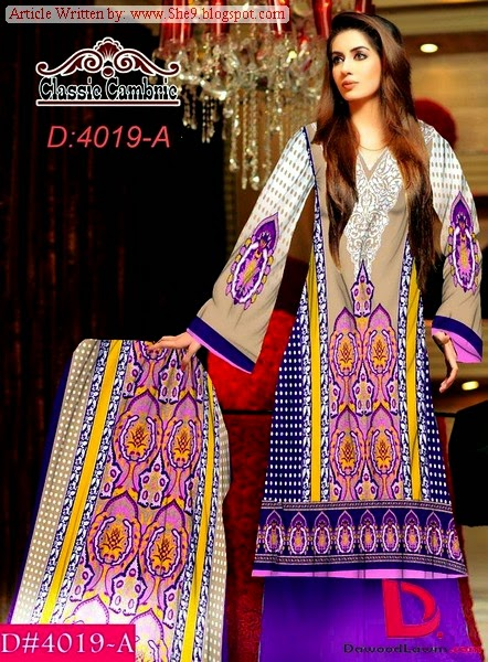 Dawood Winter Collection 2014-2015