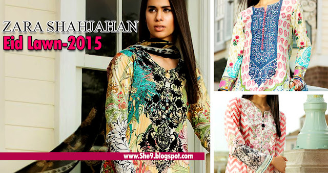 Zara Shahjahan Eid Lawn Catalog
