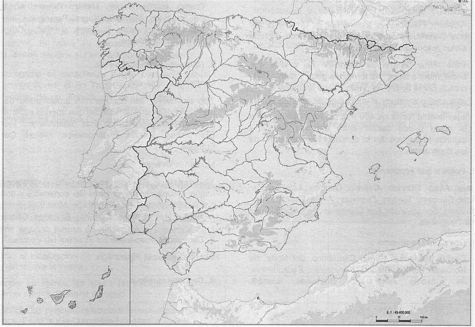 HISTORIA Y ARTE Mapas de Europa y de Espaa para el examen