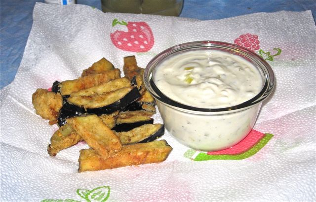 Baked Za'atar Eggplant Fries With Lemon Tahini Dip Recipes ...