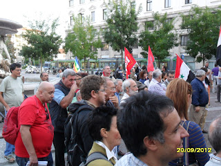 PRESIDIO DI PIAZZA FONTANA - 20 settembre 2012