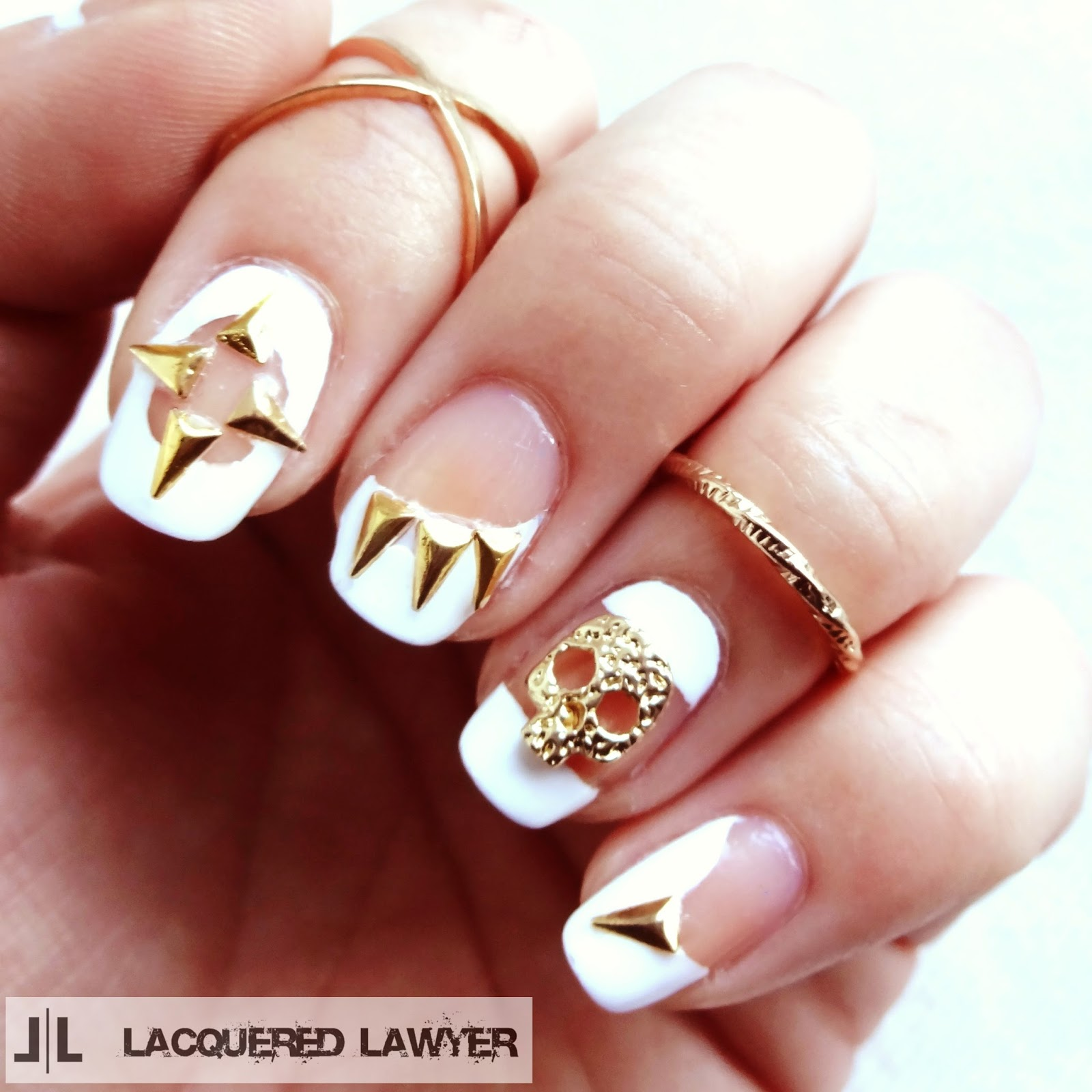 Skulls and Spikes Nails