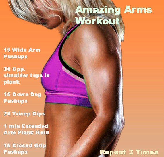 Fit friday ripped arm workout