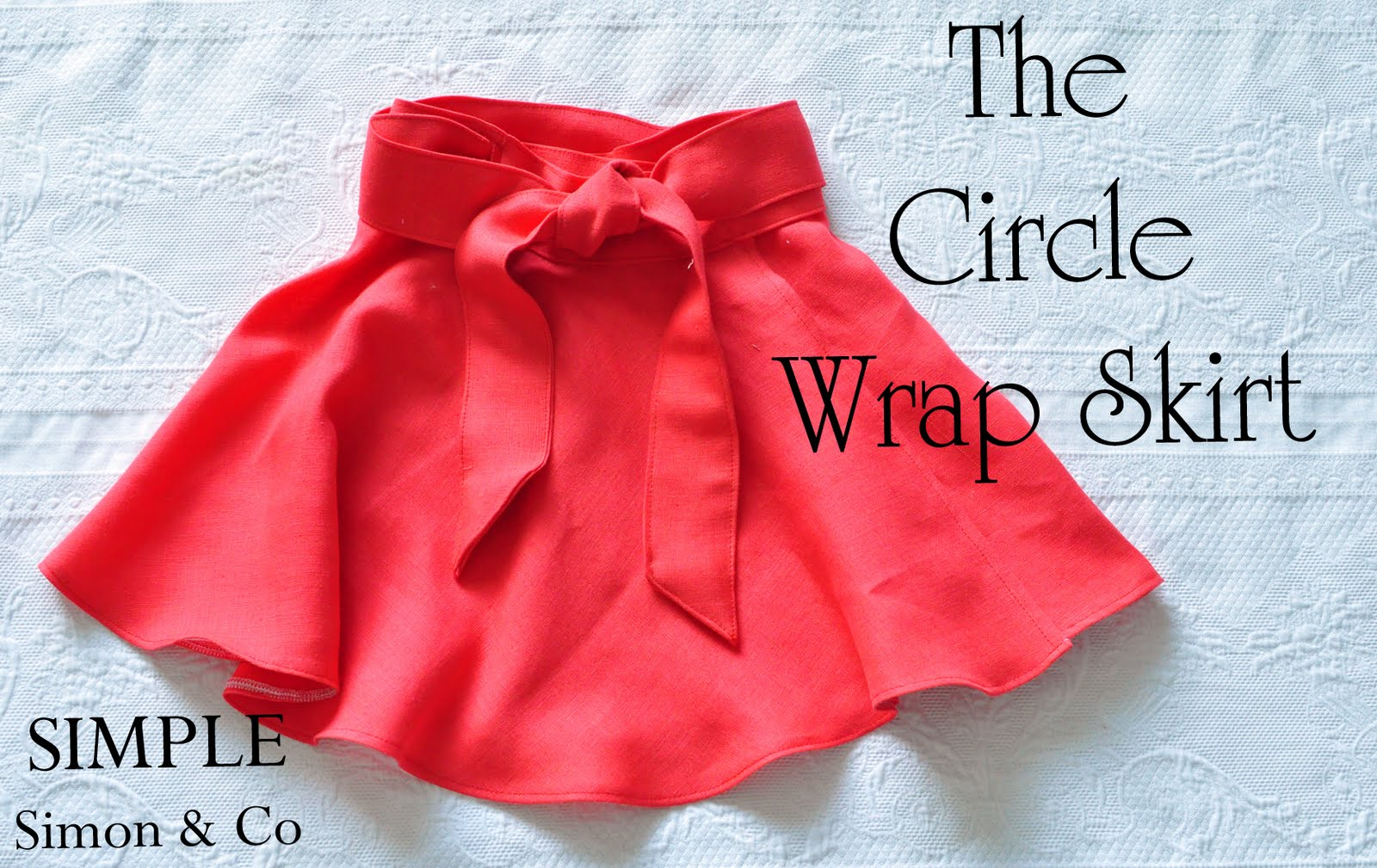 Wrap Skirt made from a Circle Skirt - Simple Simon and Company