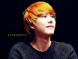 Kyuhyun Rambut Semir Kuning