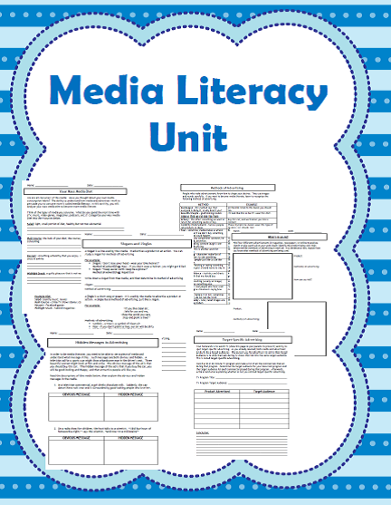 http://www.teacherspayteachers.com/Product/Media-Literacy-10-Lesson-Unit-935130