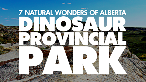 dinosaur park 7 wonders alberta