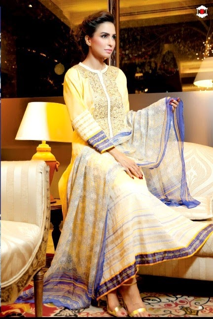 Ittehad Signature Lawn Collection 2014