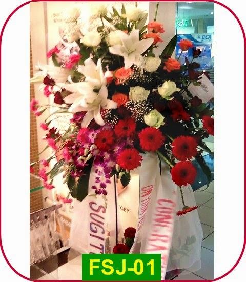 florist bunga standing karawang
