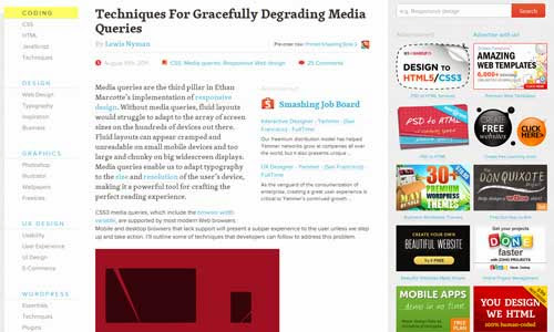 Techniques For Gracefully Degrading Media Queries