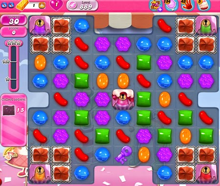 Candy Crush Saga 889