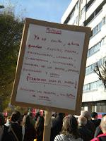 Pancartas 14-N Vigo