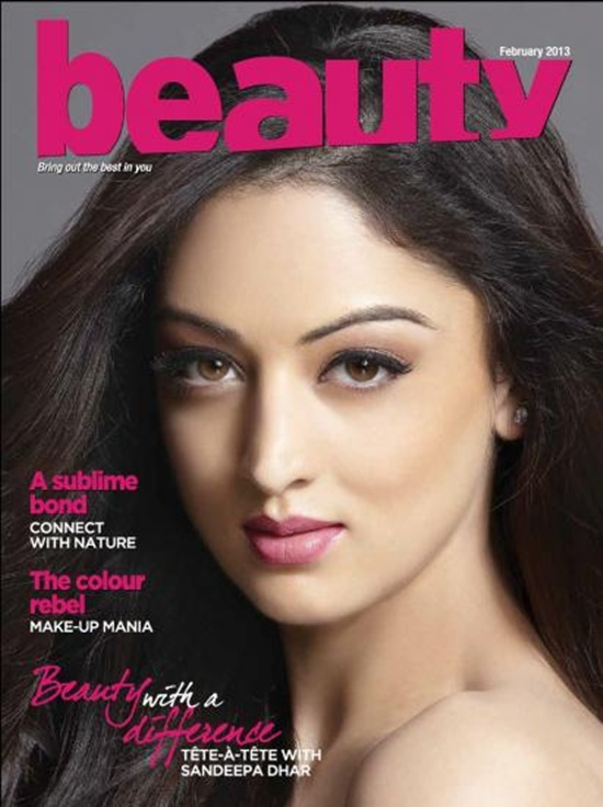 Sandeepa Dhar On The Cover Of Hair Magazine (2013)