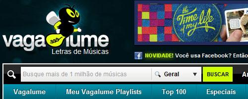 www.Vagalume.com.br