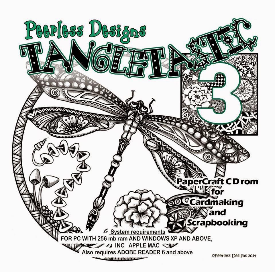 Sarah Hallams Brand new Tangletastic 3