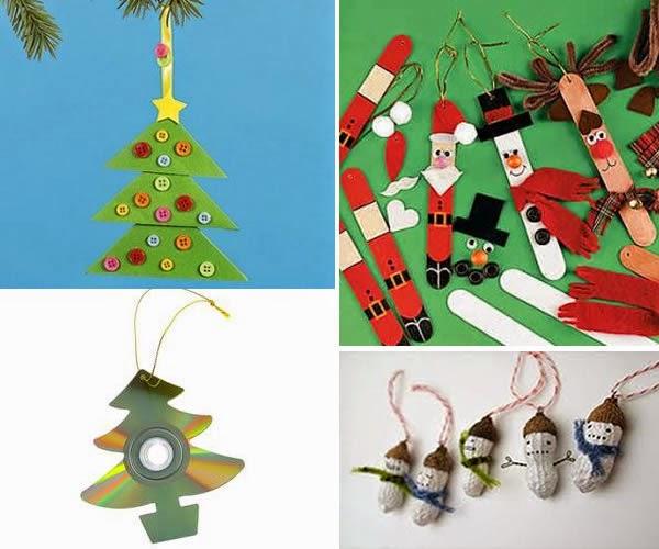 Manualidades navide as con material reciclado for Manualidades navidenas preescolar