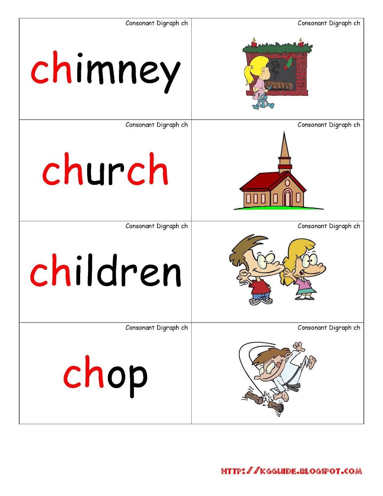 u0026quot;chu0026quot; Words worksheet for Kindergarten Students ...