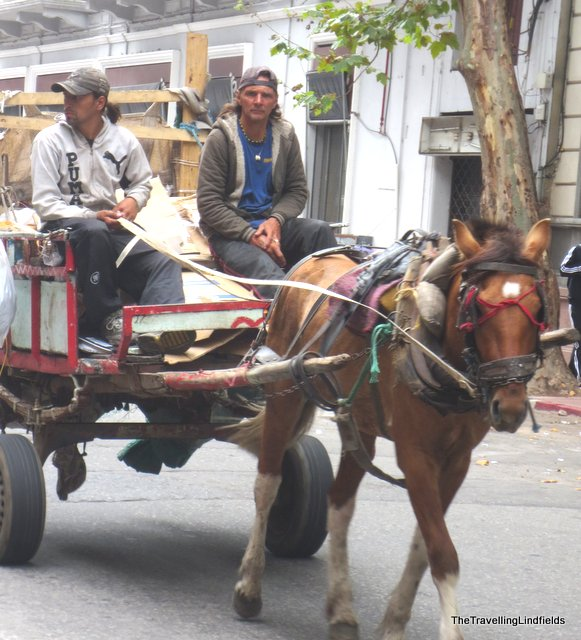Horse and cart, Montevideo