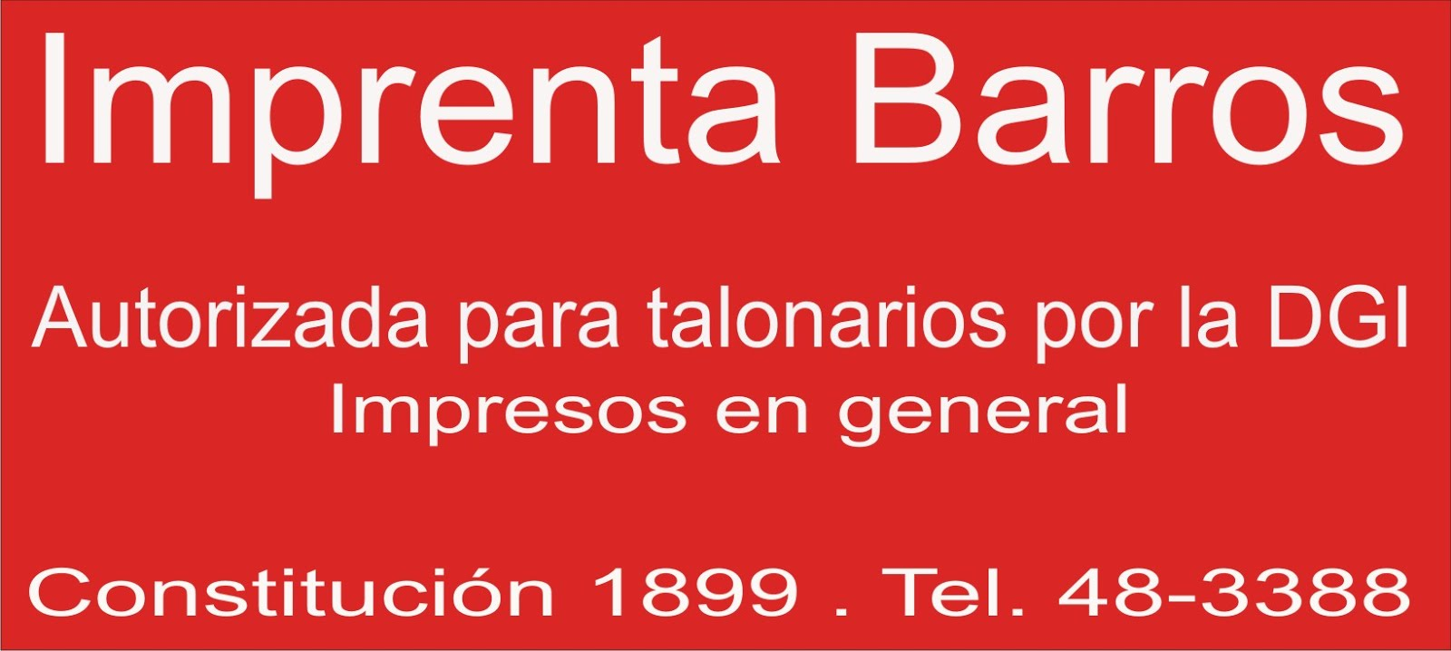 Imprenta Barros