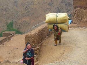 Abat aux travaux forcés de la femme paysanne