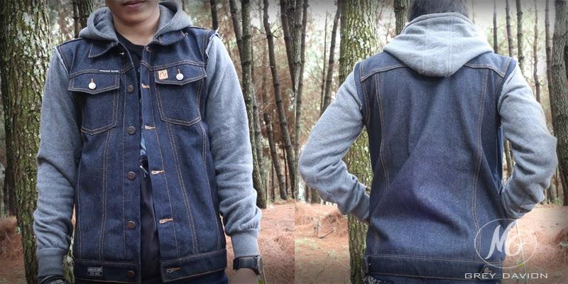 jaket jeans hoodie
