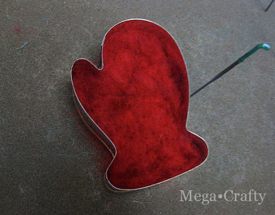 cookie-cutter felting