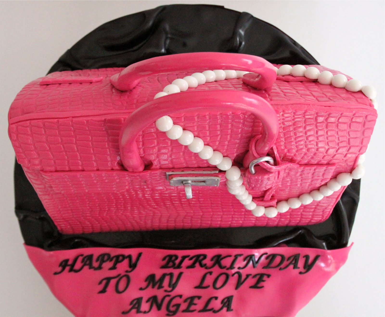 blue birkin bag - Celebrate with Cake!: Hermes Birkin Bag Cake