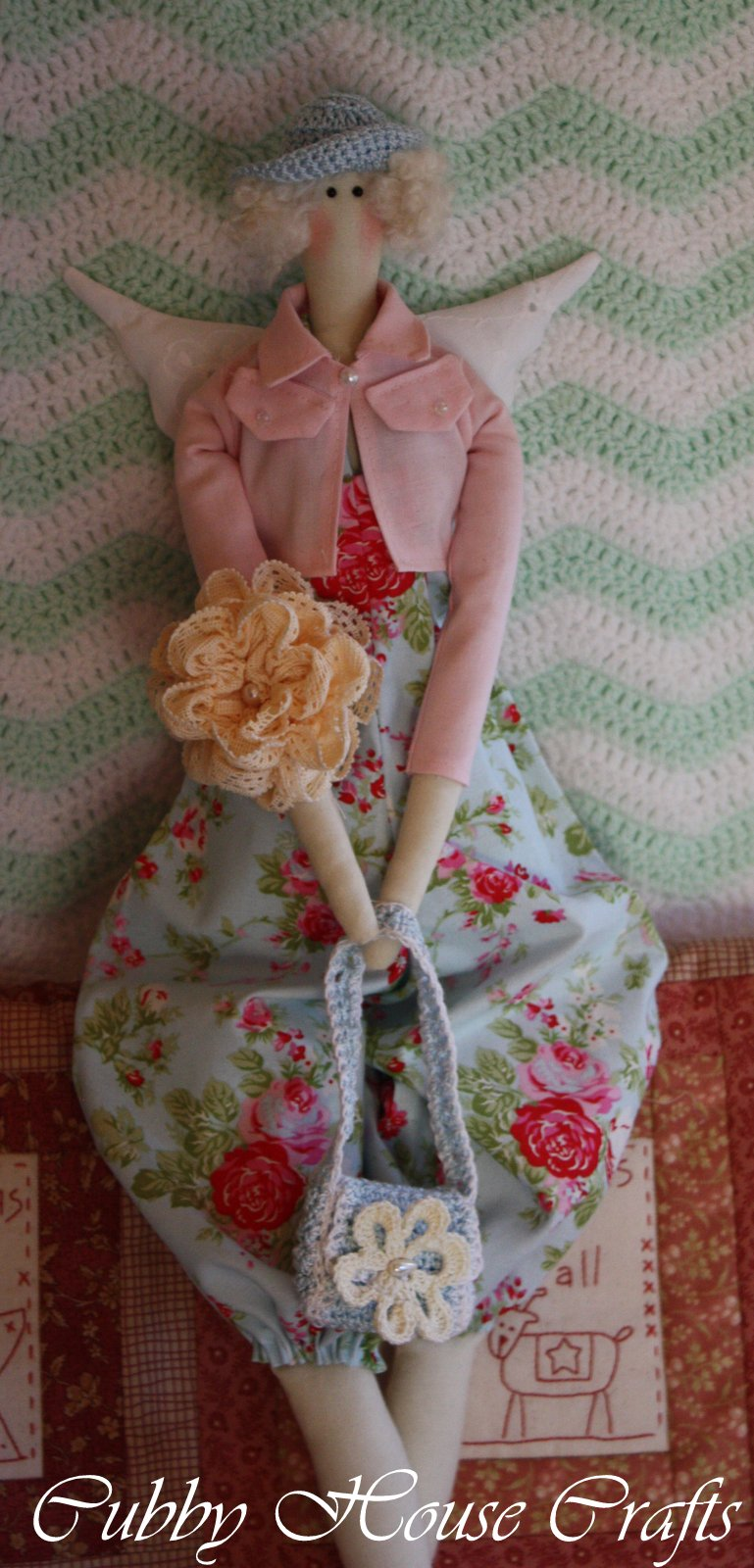 tilda doll dress