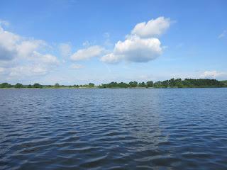hladina Opatovického rybníka Třeboň