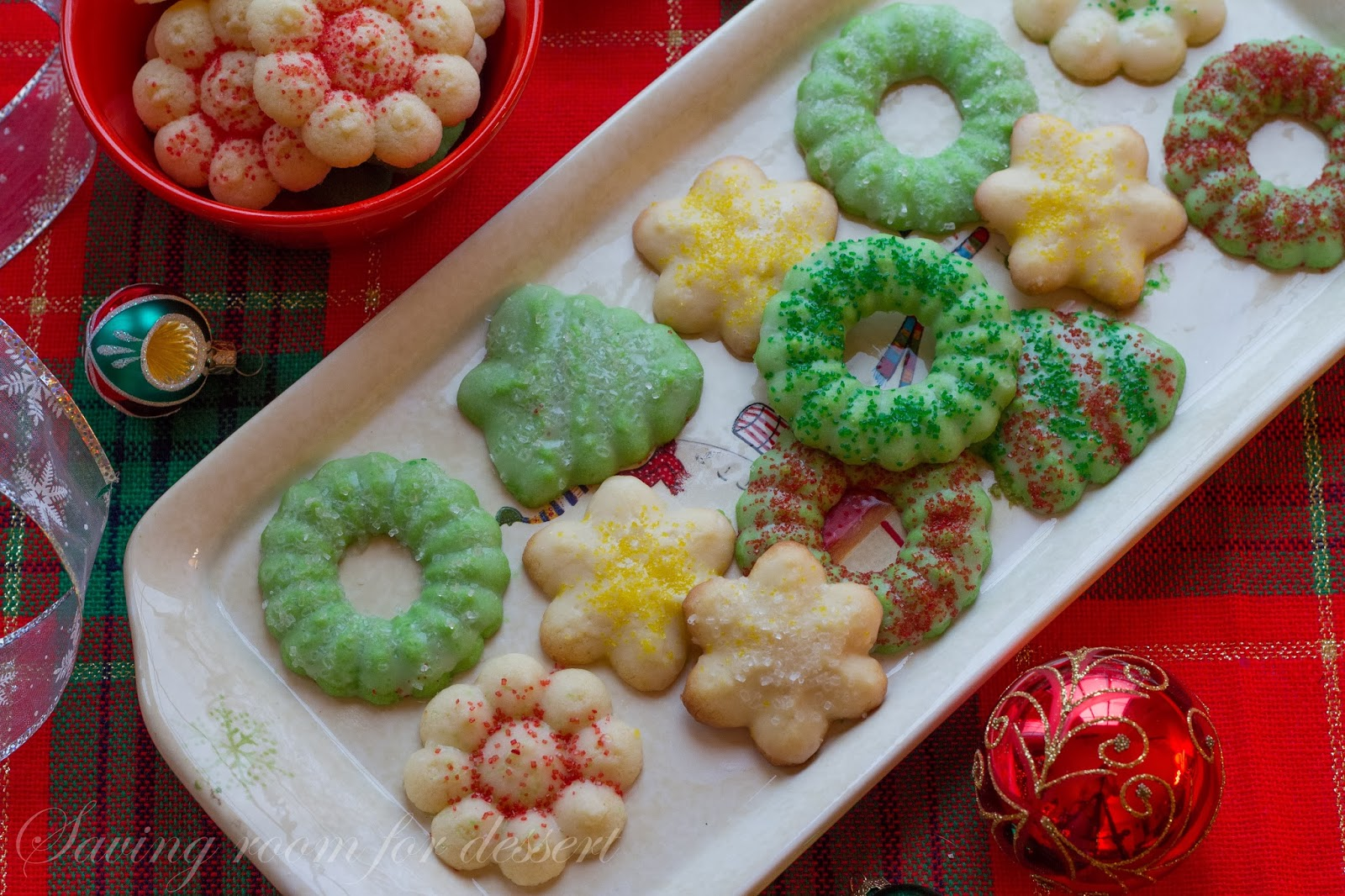 Spritz Cookies - Saving Room for Dessert