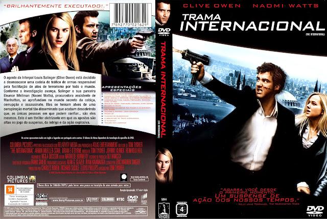 Capa DVD Trama Internacional