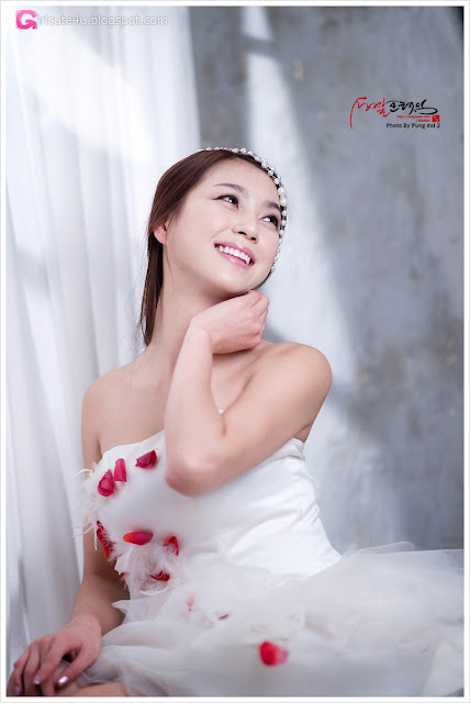 5 Ju Da Ha in Wedding Dress-very cute asian girl-girlcute4u.blogspot.com