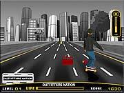 Sokak Kaykayı Oyunu